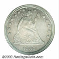 Proof Seated Quarters: , 1888 25C PR66 NGC. Only 832 examples were struck of this ...