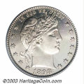 Barber Quarters: , 1898-O 25C MS64 PCGS. The 1898-O is one of the scarcest ...