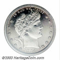 Proof Barber Quarters: , 1914 25C PR67 NGC. The 1914 has the lowest mintage of any ...