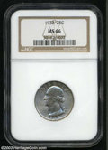 Washington Quarters: , 1932 25C MS66 NGC. Well struck and exquisitely preserved, ...