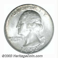 Washington Quarters: , 1954-D 25C MS67 PCGS. This coin should be hotly contested ...