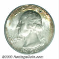 Washington Quarters: , 1954-S 25C MS67 PCGS. This is another coin that should ...