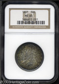 Reeded Edge Half Dollars: , 1837 50C MS63 NGC. Reeded Edge halves are a short-lived ...