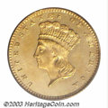 Proof Gold Dollars: , 1860 G$1 PR63 PCGS. Mint records indicate that 154 proof ...