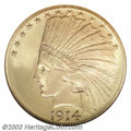 Indian Eagles: , 1914-D $10 MS67 NGC. Over the years, numismatists have ...