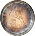 Proof Seated Quarters, 1850 25C PR68 NGC....