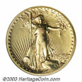 High Relief Double Eagles: , 1907 $20 High Relief, Wire Rim--Rim Filed, Cleaned--ANACS. ...