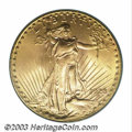 Saint-Gaudens Double Eagles: , 1928 $20 MS66 PCGS. The bright, glittering golden ...
