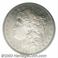 Proof Morgan Dollars: , 1895 $1 PR62 PCGS. To the collector of this popular ...
