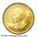 Commemorative Gold: , 1904 G$1 Lewis and Clark MS64 PCGS. Simply outstanding ...