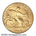 Commemorative Gold: , 1915-S $2 1/2 Panama-Pacific Quarter Eagle MS64 PCGS. ...