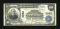 National Bank Notes:Kentucky, Lexington, KY - $10 1902 Plain Back Fr. 627 Phoenix NB & TC Ch.# 3052. This note bears the last of the three titles thi...