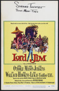 "Movie Posters:Adventure, Lord Jim (Columbia, 1965). Window Card (14"" X 22""). Drama. StarringPeter O'Toole, James Mason, Curt Jürgens, Jack Hawkins a..."