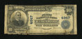 National Bank Notes:North Carolina, Wadesboro, NC - $10 1902 Plain Back Fr. 631 The First NB Ch. # 4947. A Very Good note from an elusive bank. Some mar...