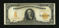Large Size:Gold Certificates, Fr. 1169a $10 1907 Gold Certificate Very Fine. A total of only 61 examples of this issue have been reported by collectors. T...