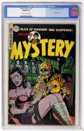 Golden Age (1938-1955):Horror, Mister Mystery #16 (Aragon Magazines, Inc., 1954) CGC VG/FN 5.0Cream to off-white pages....