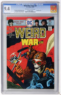 Bronze Age (1970-1979):War, Weird War Tales #42 (DC, 1975) CGC NM 9.4 Off-white to white pages....