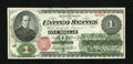 Fr. 16 $1 1862 Legal Tender Very Fine-Extremely Fine. Definitely closer to the high end of the split grade. Marvelous co...