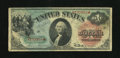 Fr. 18 $1 1869 Legal Tender Very Good. This is a bright evenly circulated Rainbow Ace. From The Collection of Greg South...