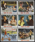 """Movie Posters:Musical, Easy to Love (MGM, 1953). Lobby Card Set of 8 (11"""" X 14""""). Musical Comedy. Starring Esther Williams, Van Johnson and Tony Ma... (Total: 8 Items)"""