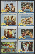 "Movie Posters:Adventure, Boy on a Dolphin (20th Century Fox, 1957). Title Lobby Card (11"" X14"") and Lobby Cards (7) (11"" X 14""). Adventure. Starring...(Total: 8 Items)"
