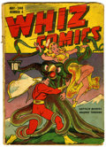 Golden Age (1938-1955):Superhero, Whiz Comics #4 (Fawcett, 1940) Condition: FR....