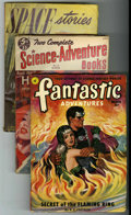 Pulps:Science Fiction, Miscellaneous Sci-Fi Pulps Group (Various Publishers, 1950-52)Condition: Average VG.... (Total: 5)