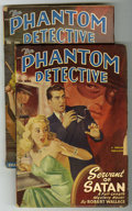 Pulps:Detective, The Phantom Detective V53#1 and V54#1 Group (Standard Magazines, 1949) Condition: Average VG.... (Total: 2)