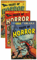 Golden Age (1938-1955):Horror, Tales of Horror #1-4 Group (Toby Publishing, 1952).... (Total: 4)