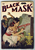 Pulps:Detective, Black Mask V33#4 (Fictioneers Inc., 1949) Condition: VG....
