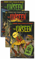 Golden Age (1938-1955):Horror, The Unseen Group (Standard, 1954) Condition: Average ApparentVG/FN.... (Total: 4)