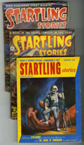 Pulps:Science Fiction, Startling Stories Group (Standard, 1947-53) Condition: AverageVG.... (Total: 7)