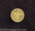 1904 MS Louisiana 1/2 Gold Token XF40 Cleaned Uncertified. Burnie L2. Struck for the 1904 Louisiana Purchase Exposition...