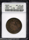 Patterns: , 1862 50C Half Dollar, Judd-296, Pollock-354, R.7--Corroded--...