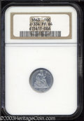 Patterns: , 1863 10C Ten Cents, Judd-334, Pollock-406, R.7, PR64 NGC. ...