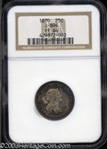 Patterns: , 1870 25C Standard Silver Quarter Dollar, Judd-894, Pollock-...
