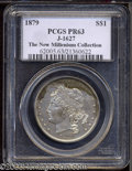 1879 $1 Goloid Metric Dollar, Judd-1627, Pollock-1823, R.3(?), PR63 PCGS. William Barber's design for the Goloid Metric...