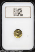 Patterns: , 1915 G$1 Panama-Pacific Gold Dollar, Judd-1965 (previously ...
