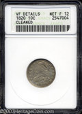 Bust Dimes: , 1820 Large 0 Fine12 ANACS. The current Coin Dealer ...