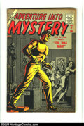Silver Age (1956-1969):Horror, Adventure Into Mystery #6 (Atlas, 1957) Condition: FN/VF.Interesting Bill Everett cover. Overstreet 2003 FN 6.0 value =$54...