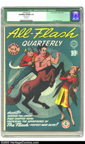 Golden Age (1938-1955):Superhero, All-Flash #3 (DC, 1941) CGC Qualified VF/NM 9.0 White pages. E. E. Hibbard cover. Very nice copy of this early issue of this...
