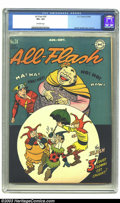 Golden Age (1938-1955):Superhero, All-Flash #24 (DC, 1946) CGC VF+ 8.5 Off-white pages. Martin Nodell cover and art. There is currently only one copy of this ...