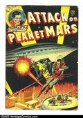 Golden Age (1938-1955):Science Fiction, Attack on Planet Mars nn (Avon, 1951) Condition: GD+. Art byCarmine Infantino, Joe Kubert and Wally Wood. Overstreet 2003 G...