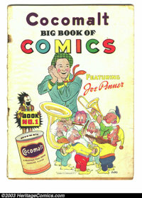 Cocomalt Big Book of Comics #1 (Chesler, 1938) Condition: GD-. Scarce; Jack Cole, Fred Guardineer art. Little Nemo appea...