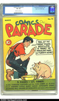 Golden Age (1938-1955):Adventure, Comics On Parade #12 Mile High pedigree (United Features Syndicate, 1939) CGC VF+ 8.5 Off-white to white pages. Little Abner...