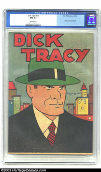 Dick Tracy #nn Shoe Store Promotion (K. K. Publications, Inc., 1939) CGC NM 9.4 Off-white pages. Marked on the back &quo...
