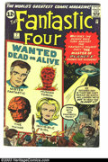 Silver Age (1956-1969):Superhero, Fantastic Four #7 (Marvel, 1962) Condition: VG-. First appearance of Kurrgo. Jack Kirby art. Overstreet 2003 VG 4.0 value = ...