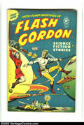 Golden Age (1938-1955):Science Fiction, Flash Gordon #1 (Harvey, 1950) Condition: FN+. Alex Raymond artworkand a great bondage cover. Overstreet 2003 FN 6.0 value ...