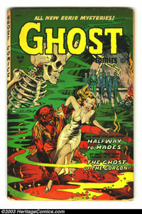 Ghost Comics #10 (Fiction House, 1954) Condition: GD/VG. This issue has Dr. Drew with Jerry Grandenetti art. Slightly br...