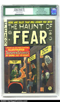 Golden Age (1938-1955):Horror, The Haunt of Fear 17 (#3) Gaines File pedigree 5/7 (EC, 1950) CGCQualified VF/NM 9.0 Off-white to white pages. Origin of Cr...